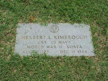 KIMBROUGH (VETERAN  2 WARS), HERBERT L - Pulaski County, Arkansas | HERBERT L KIMBROUGH (VETERAN  2 WARS) - Arkansas Gravestone Photos