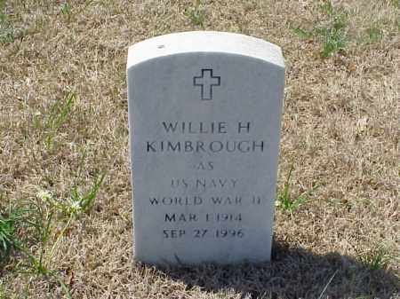 KIMBROUGH (VETERAN WWII), WILLIE H - Pulaski County, Arkansas | WILLIE H KIMBROUGH (VETERAN WWII) - Arkansas Gravestone Photos