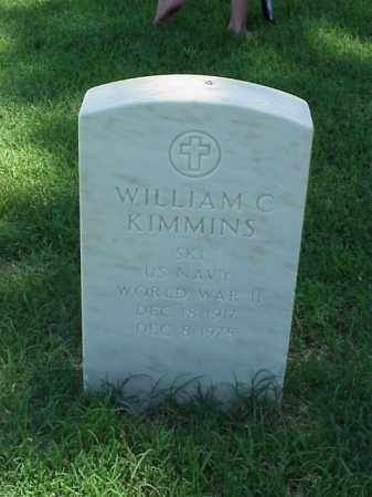 KIMMINS (VETERAN WWII), WILLIAM C - Pulaski County, Arkansas | WILLIAM C KIMMINS (VETERAN WWII) - Arkansas Gravestone Photos