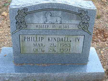KINDALL, IV, PHILLIP - Pulaski County, Arkansas | PHILLIP KINDALL, IV - Arkansas Gravestone Photos