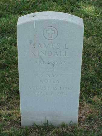 KINDALL (VETERAN KOR), JAMES L - Pulaski County, Arkansas | JAMES L KINDALL (VETERAN KOR) - Arkansas Gravestone Photos