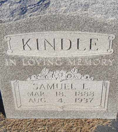KINDLE, SAMUEL L - Pulaski County, Arkansas | SAMUEL L KINDLE - Arkansas Gravestone Photos