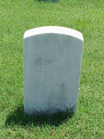 KINDY (VETERAN WWII), LLOYD O - Pulaski County, Arkansas | LLOYD O KINDY (VETERAN WWII) - Arkansas Gravestone Photos