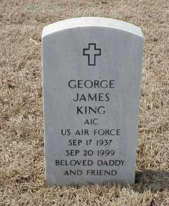 KING  (VETERAN), GEORGE JAMES - Pulaski County, Arkansas | GEORGE JAMES KING  (VETERAN) - Arkansas Gravestone Photos