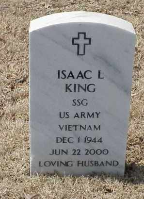 KING  (VETERAN VIET), ISAAC L - Pulaski County, Arkansas | ISAAC L KING  (VETERAN VIET) - Arkansas Gravestone Photos
