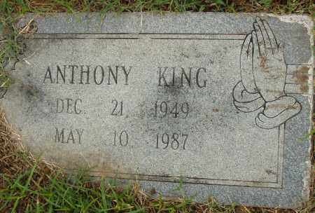 KING, ANTHONY - Pulaski County, Arkansas | ANTHONY KING - Arkansas Gravestone Photos
