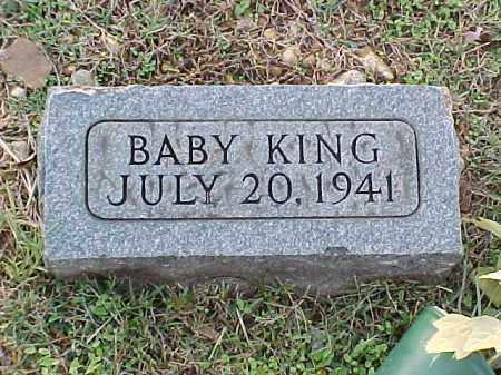 KING, BABY - Pulaski County, Arkansas | BABY KING - Arkansas Gravestone Photos