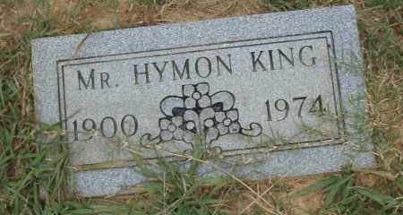 KING, HYMON - Pulaski County, Arkansas | HYMON KING - Arkansas Gravestone Photos