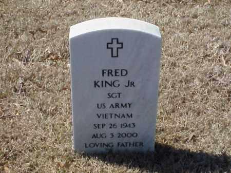 KING, JR  (VETERAN VIET), FRED - Pulaski County, Arkansas | FRED KING, JR  (VETERAN VIET) - Arkansas Gravestone Photos
