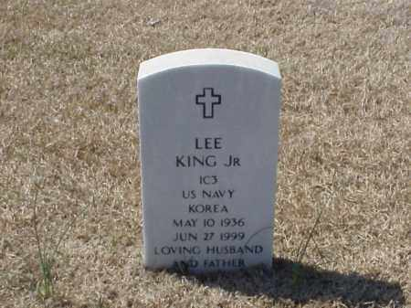 KING, JR (VETERAN KOR), LEE - Pulaski County, Arkansas | LEE KING, JR (VETERAN KOR) - Arkansas Gravestone Photos