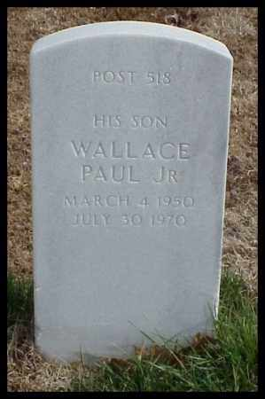 KING, JR, WALLACE PAUL - Pulaski County, Arkansas | WALLACE PAUL KING, JR - Arkansas Gravestone Photos