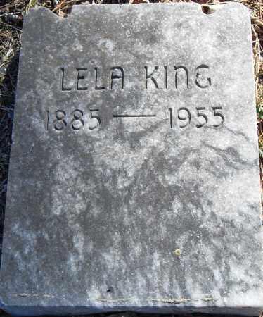 KING, LELA - Pulaski County, Arkansas | LELA KING - Arkansas Gravestone Photos