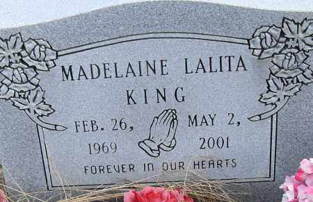 KING, MADELAINE LALITA - Pulaski County, Arkansas | MADELAINE LALITA KING - Arkansas Gravestone Photos