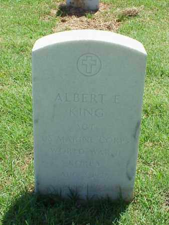 KING (VETERAN 2 WARS), ALBERT E - Pulaski County, Arkansas | ALBERT E KING (VETERAN 2 WARS) - Arkansas Gravestone Photos