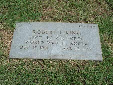 KING (VETERAN 2 WARS), ROBERT L - Pulaski County, Arkansas | ROBERT L KING (VETERAN 2 WARS) - Arkansas Gravestone Photos