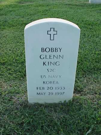 KING (VETERAN KOR), BOBBY GLENN - Pulaski County, Arkansas | BOBBY GLENN KING (VETERAN KOR) - Arkansas Gravestone Photos