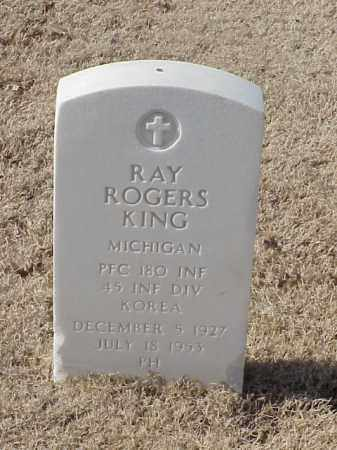 KING (VETERAN KOR), RAY ROGERS - Pulaski County, Arkansas | RAY ROGERS KING (VETERAN KOR) - Arkansas Gravestone Photos