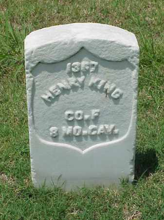 KING (VETERAN UNION), HENRY - Pulaski County, Arkansas | HENRY KING (VETERAN UNION) - Arkansas Gravestone Photos