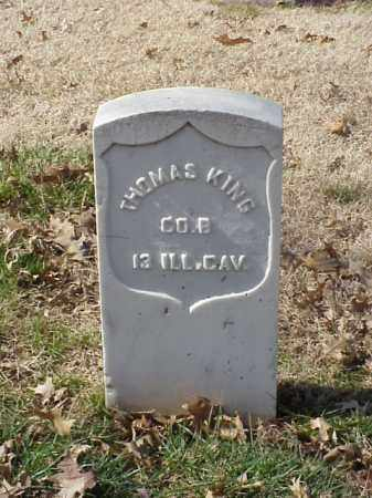 KING (VETERAN UNION), THOMAS - Pulaski County, Arkansas | THOMAS KING (VETERAN UNION) - Arkansas Gravestone Photos