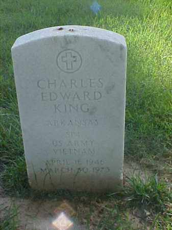 KING (VETERAN VIET), CHARLES EDWARD - Pulaski County, Arkansas | CHARLES EDWARD KING (VETERAN VIET) - Arkansas Gravestone Photos