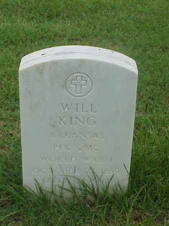 KING (VETERAN WWI), WILL - Pulaski County, Arkansas | WILL KING (VETERAN WWI) - Arkansas Gravestone Photos