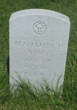 KING (VETERAN WWII), BENJAMIN H - Pulaski County, Arkansas | BENJAMIN H KING (VETERAN WWII) - Arkansas Gravestone Photos