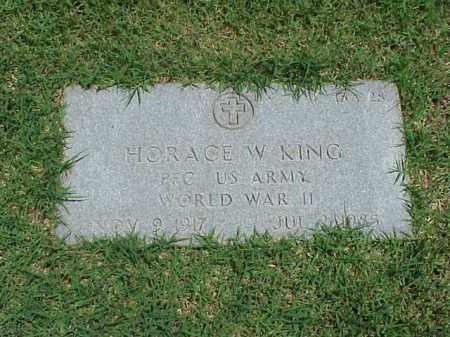 KING (VETERAN WWII), HORACE W - Pulaski County, Arkansas | HORACE W KING (VETERAN WWII) - Arkansas Gravestone Photos