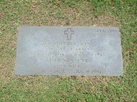 KING, EARNESTINE - Pulaski County, Arkansas | EARNESTINE KING - Arkansas Gravestone Photos