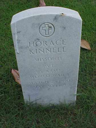 KINNELL (VETERAN WWI), HORACE - Pulaski County, Arkansas | HORACE KINNELL (VETERAN WWI) - Arkansas Gravestone Photos