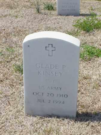KINSEY (VETERAN), GLADE P - Pulaski County, Arkansas | GLADE P KINSEY (VETERAN) - Arkansas Gravestone Photos