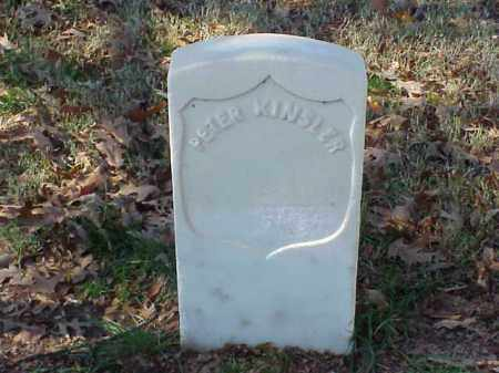 KINSLER (VETERAN UNION), PETER - Pulaski County, Arkansas | PETER KINSLER (VETERAN UNION) - Arkansas Gravestone Photos