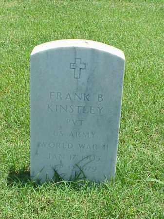 KINSTLEY (VETERAN WWII), FRANK B - Pulaski County, Arkansas | FRANK B KINSTLEY (VETERAN WWII) - Arkansas Gravestone Photos