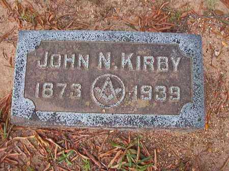 KIRBY, JOHN N - Pulaski County, Arkansas | JOHN N KIRBY - Arkansas Gravestone Photos