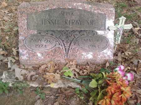 "KIRBY, SR., JESSIE ""SPUCK"" - Pulaski County, Arkansas | JESSIE ""SPUCK"" KIRBY, SR. - Arkansas Gravestone Photos"