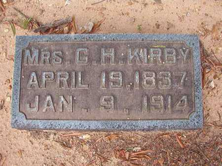 KIRBY, MRS, C H - Pulaski County, Arkansas | C H KIRBY, MRS - Arkansas Gravestone Photos