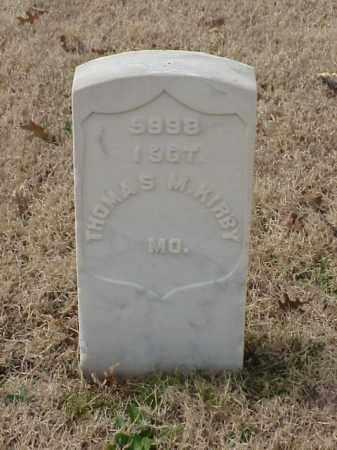 KIRBY (VETERAN UNION), THOMAS M - Pulaski County, Arkansas | THOMAS M KIRBY (VETERAN UNION) - Arkansas Gravestone Photos