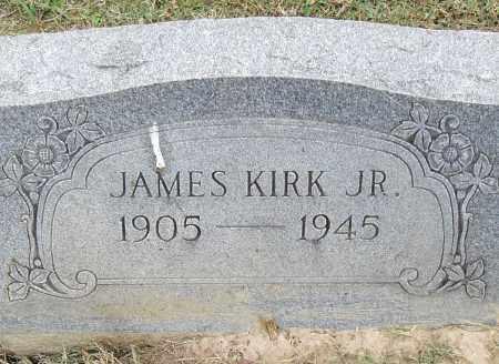 KIRK, JR, JAMES - Pulaski County, Arkansas | JAMES KIRK, JR - Arkansas Gravestone Photos