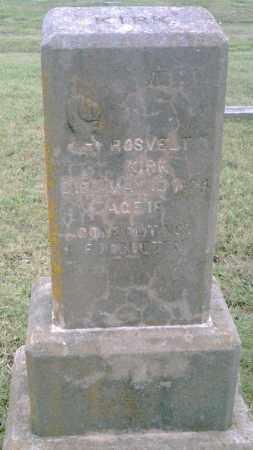 KIRK, ROOSEVELT - Pulaski County, Arkansas | ROOSEVELT KIRK - Arkansas Gravestone Photos