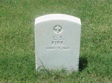 KIRK (VETERAN UNION), L S - Pulaski County, Arkansas | L S KIRK (VETERAN UNION) - Arkansas Gravestone Photos