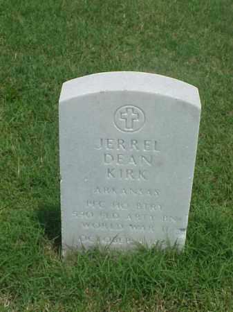 KIRK (VETERAN WWII), JERRELL DEAN - Pulaski County, Arkansas | JERRELL DEAN KIRK (VETERAN WWII) - Arkansas Gravestone Photos