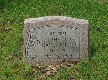 KIRKES, ALPHA MAE - Pulaski County, Arkansas | ALPHA MAE KIRKES - Arkansas Gravestone Photos