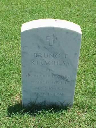 KIRSCH, SR (VETERAN WWII), BRUNO E - Pulaski County, Arkansas | BRUNO E KIRSCH, SR (VETERAN WWII) - Arkansas Gravestone Photos