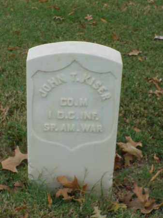 KISER (VETERAN SAW), JOHN T - Pulaski County, Arkansas | JOHN T KISER (VETERAN SAW) - Arkansas Gravestone Photos