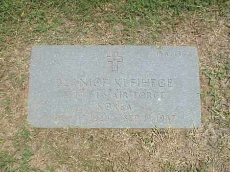 KLEIHEGE (VETERAN KOR), BERNICE - Pulaski County, Arkansas | BERNICE KLEIHEGE (VETERAN KOR) - Arkansas Gravestone Photos