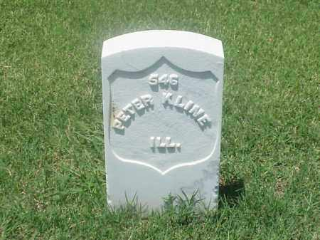 KLINE (VETERAN UNION), PETER - Pulaski County, Arkansas | PETER KLINE (VETERAN UNION) - Arkansas Gravestone Photos
