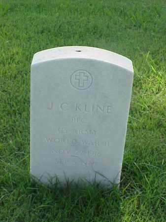 KLINE (VETERAN WWII), J C - Pulaski County, Arkansas | J C KLINE (VETERAN WWII) - Arkansas Gravestone Photos