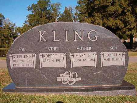 KLING, STEPHEN E - Pulaski County, Arkansas | STEPHEN E KLING - Arkansas Gravestone Photos