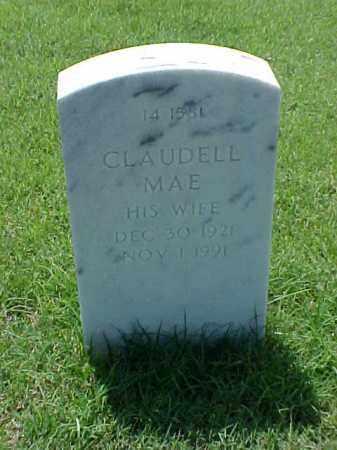 KNIGHT, CLAUDELL MAE - Pulaski County, Arkansas | CLAUDELL MAE KNIGHT - Arkansas Gravestone Photos