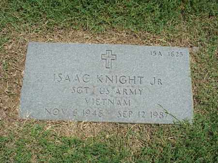 KNIGHT, JR (VETERAN VIET), ISAAC - Pulaski County, Arkansas | ISAAC KNIGHT, JR (VETERAN VIET) - Arkansas Gravestone Photos
