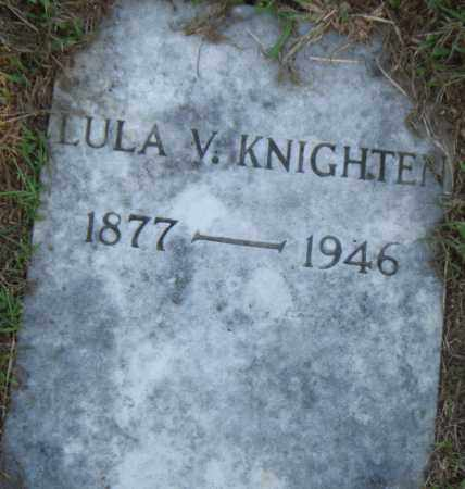 KNIGHT, LULA  V. - Pulaski County, Arkansas | LULA  V. KNIGHT - Arkansas Gravestone Photos